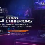 ROG Born Champions Laptop ROG AMD Ryzen 5000